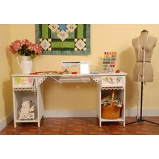 <strong>Arrow Sewing Cabinets</strong> Olivia Sewing Table