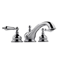 <strong>Meridian</strong> Double Handle Deck Mount Roman Tub Faucet Trim with Lever Handle