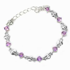 Eight Round Gemstone Bracelet