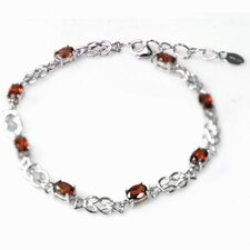Oval Gemstone Bracelet