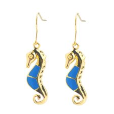 Sea Horse Drop Earrings