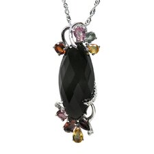 <strong>DeBuman</strong> Sterling Silver Gemstone Necklace