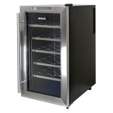 18 Bottle Single Zone Thermoelectric Wine Refrigerator