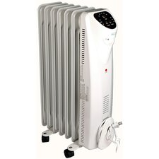 1,500 Watt Convection Radiator Oil-Filled Space Heater