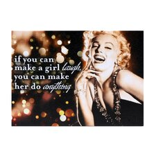 Marilyn 1947 Graphic Art on Canvas