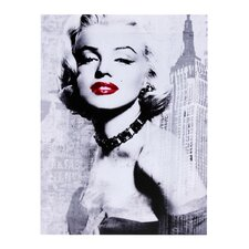 Marilyn 1950 Graphic Art on Canvas