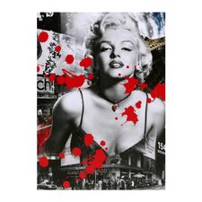 Marilyn 1953 Graphic Art on Canvas