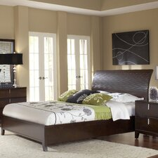 Legend Wood Panel Bed