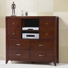 <strong>Modus Furniture</strong> Brighton 4 Drawer Media Chest