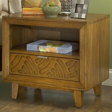 Trellis 1 Drawer Nightstand