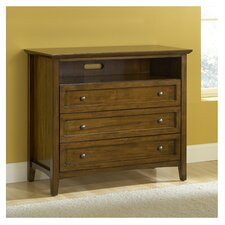 Paragon 3 Drawer Media Chest