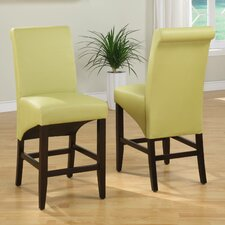 "Cosmo 25"" Bar Stool (Set of 2)"