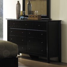 City II 9 Drawer Dresser