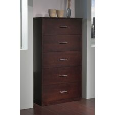 <strong>Modus Furniture</strong> Modera 5 Drawer Chest