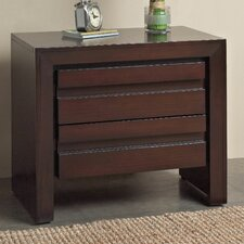 <strong>Modus Furniture</strong> Element 2 Drawer Charging Station Nightstand