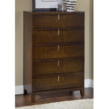 Legend Wood 5 Drawer Standard Chest