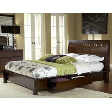 Veneto Storage Panel Bed