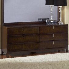 <strong>Modus Furniture</strong> Legend Wood 6 Drawer Standard Dresser