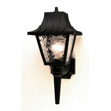 <strong>Sunset Lighting</strong> 1 Light Outdoor Wall Lantern