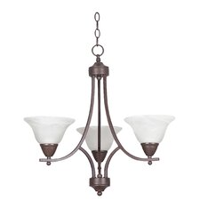 Metropolitan 3 Light Chandelier
