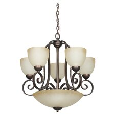 Provano 8 Light Chandelier