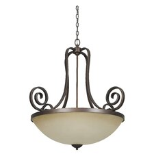 Provano 3 Light Bowl Pendant