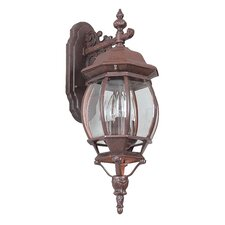 French 3 Light Wall Lantern