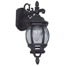 French 1 Light Outdoor Wall Lantern