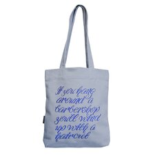 Homeboy If You Hang Around Tote Bag