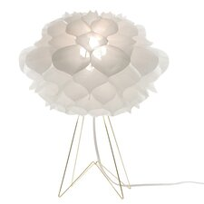 "Phrena 17"" H Table Lamp in White"