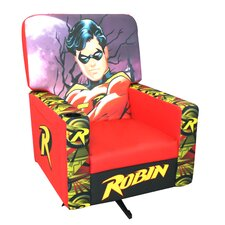 Robin Animated Classic Hero Kids Rocking Chair