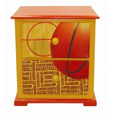 <strong>Newco Kids</strong> Basketball Slam Dunk Nightstand