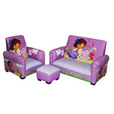 Dora the Explorer Picnic Toddler 3 Piece Seating Group