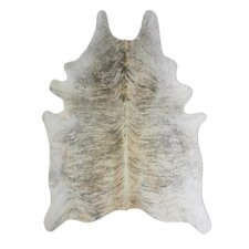 Natural Cowhide Exotic Zebu Rug