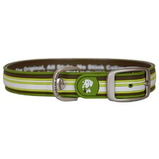 All Style Classic Stripe Sherpa No Stink Dog Collar