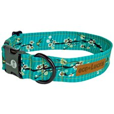 Eco Lucks Cherry Blossom Hong Kong Seas Dog Collar