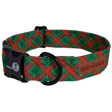 Eco Lucks Winter Wonders Yuletide Dog Collar