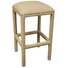 "<strong>Noir</strong> Gustavo 32"" Bar Stool with Cushion"