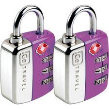 Travel Sentry Twin Pad Lock (Set of 2)