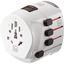 Worldwide Earthed Adaptor Plug
