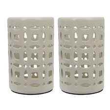 Ceramic Lantern (Set of 2)