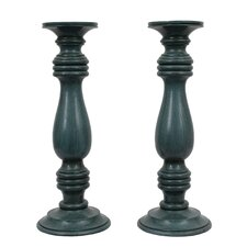 Resin Candle Holder (Set of 2)