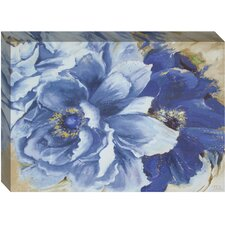 Floral Beautiful Peonies Painting Print on Canvas