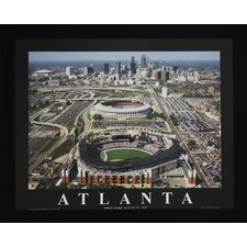 Atlanta Baseball Photographic Print