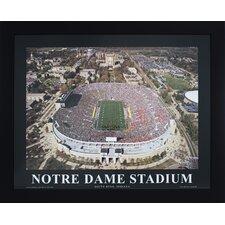 Notre Dame Stadium Photographic Print