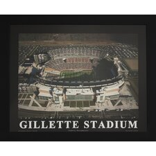 Gillette Stadium Photographic Print