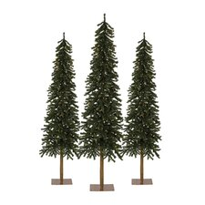 Classics Tannenbaum Evergreen Artificial Christmas Tree (Set of 3)