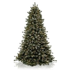 Classics 7' Frosted Sugar Pine Artificial Christmas Tree