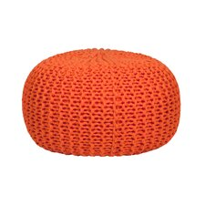 Hand Knitted Pouf Bean Bag Chair
