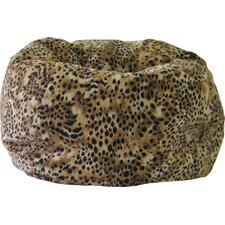 Animal Skin Kit Kat Safari Bean Bag Chair